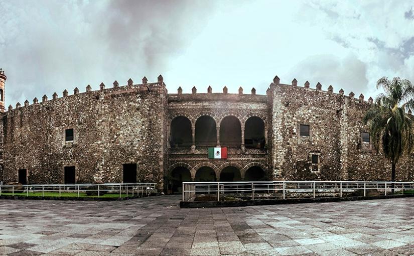 El Museo Regional Cuauhnáhuac (Palacio de Cortés) enCuernavaca